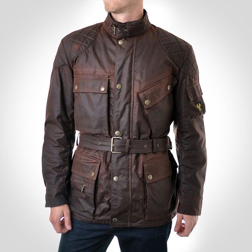 Best Motorcycle Jacket >> Trial Master Jacket by Belstaff - (SILODROME)