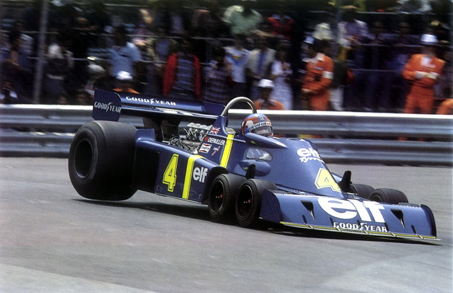 Tyrrell six wheeler