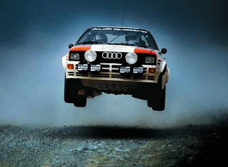 ur quattro 450x330 - Too Fast To Race - Group B Rally Documentary