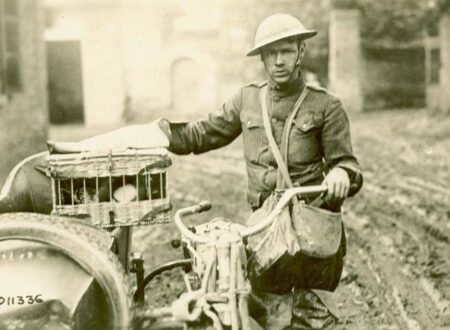 world war 1 despatch rider 450x330 - Adventures of a Motorcycle Despatch Rider