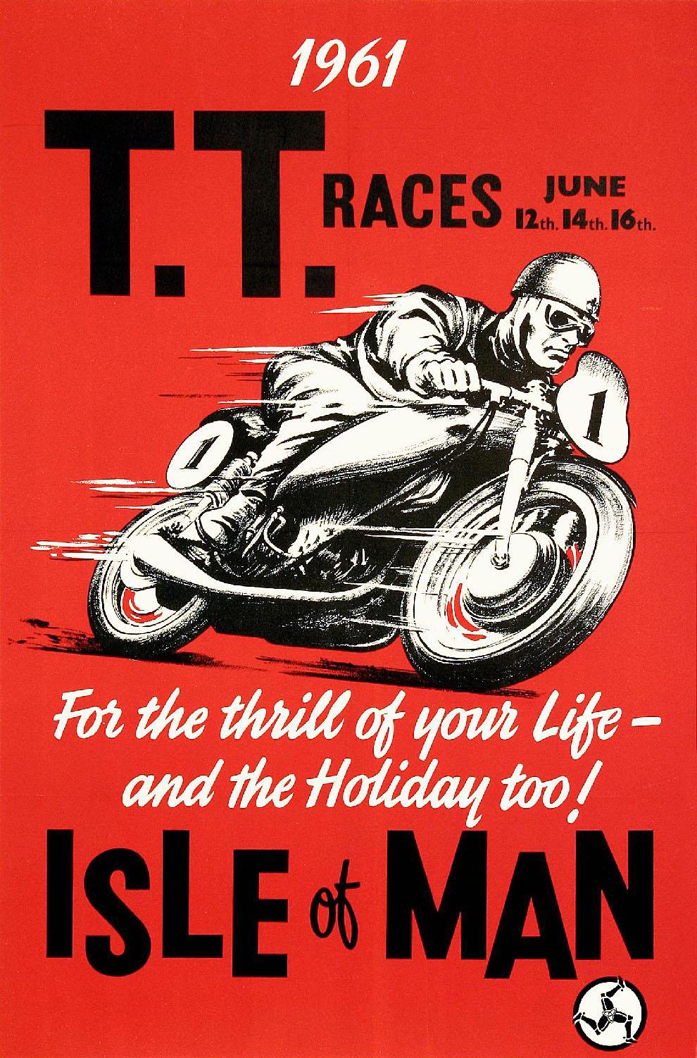 Vintage Motorcycle Racing Posters 79