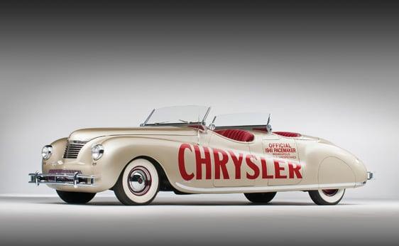 1941 Chrysler Newport Dual Cowl Phaeton LeBaron