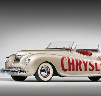 1941 Chrysler Newport Dual Cowl Phaeton LeBaron1 346x330 - 1941 Chrysler Newport Dual Cowl Phaeton by LeBaron
