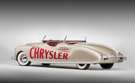 1941 Chrysler Newport Dual Cowl Phaeton by LeBaron car