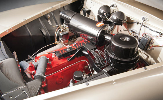 1941 Chrysler Newport Dual Cowl Phaeton by LeBaron classic car