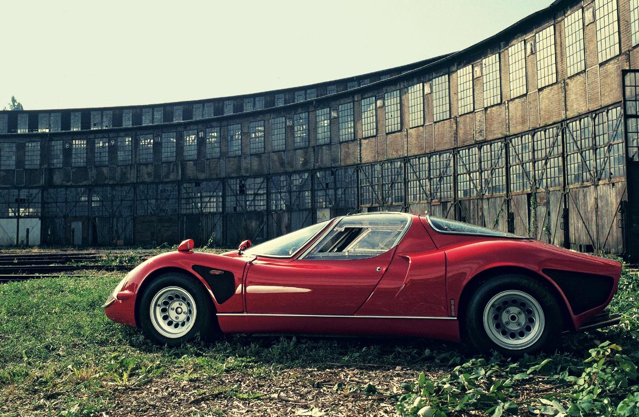 Alfa Romeo 33 Stradale Car
