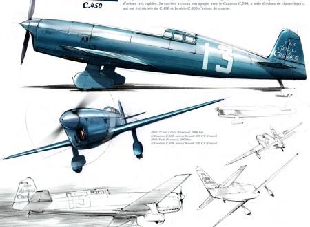 Caudron C450 450x330 - The Caudron C450