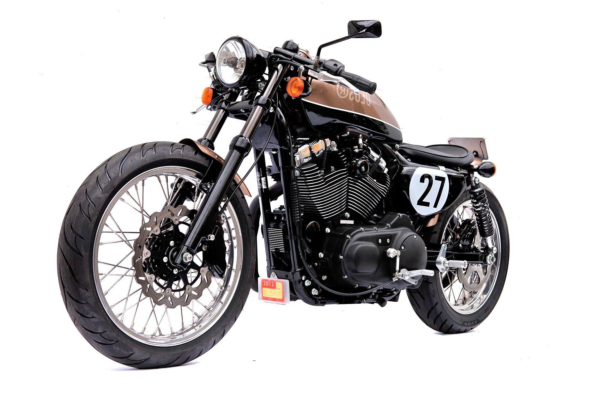 Deus Ex Machina Harley Motorcycle Cafe Racer