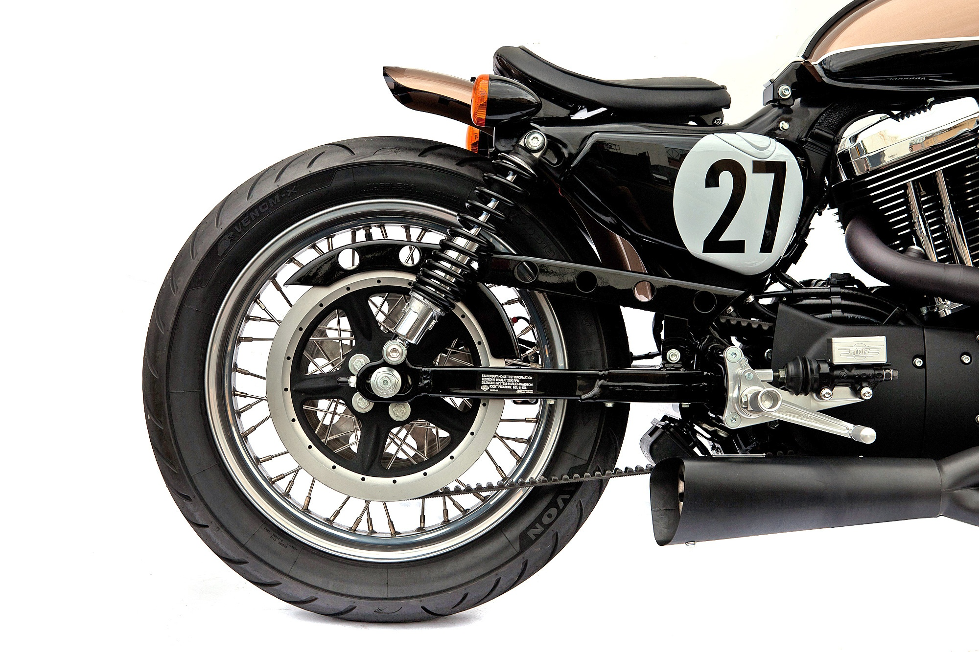Deus Ex Machina Harley Motorcycle Custom