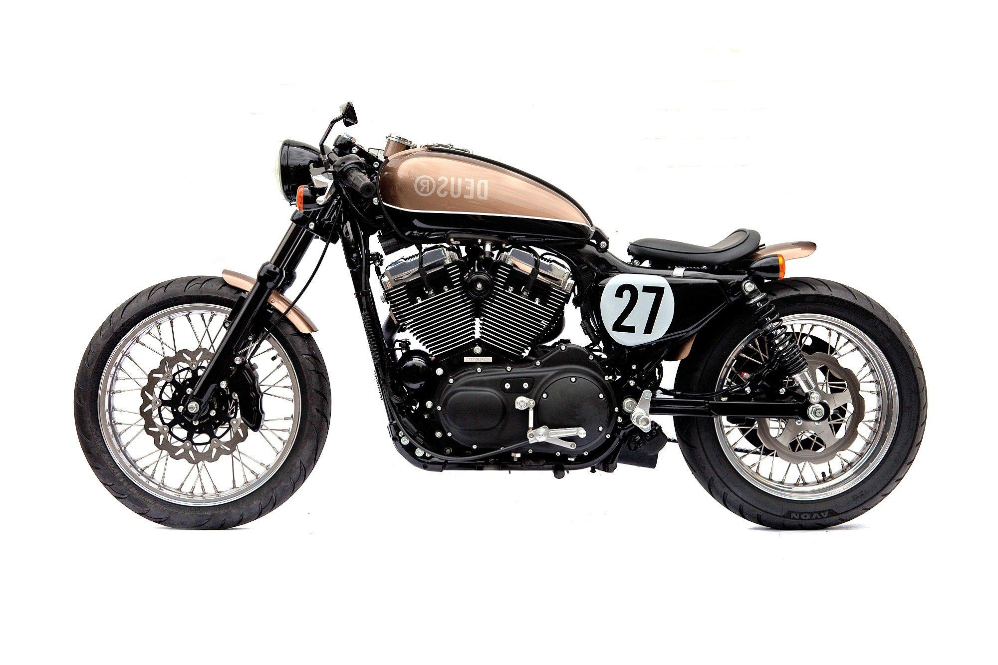 Deus Ex Machina Harley Motorcycle