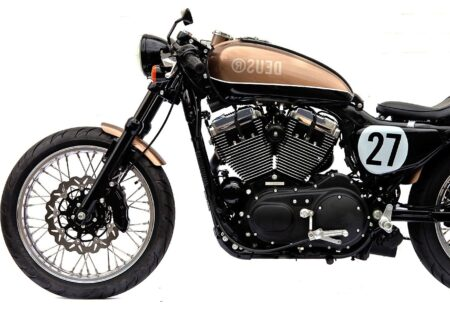 Deus Ex Machina Harley Motorcycle1 450x330 - The Bald Terrier 1200 by Deus Ex Machina