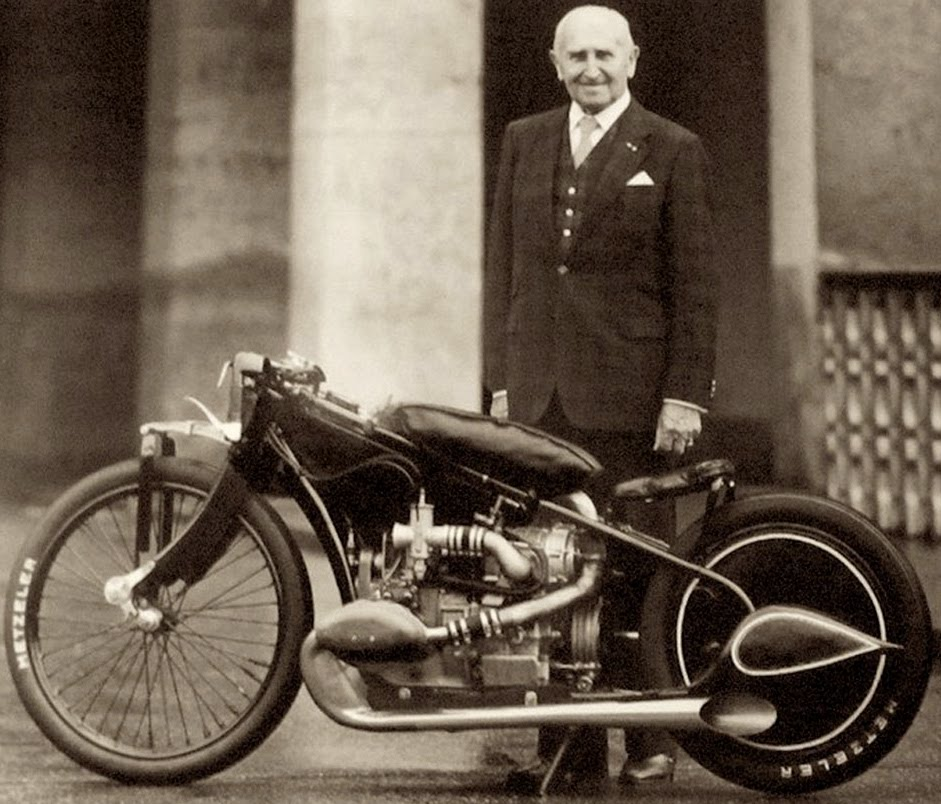 Ernst Henne BMW Motorcycle Supercharged Ernst Hennes Supercharged BMW R37