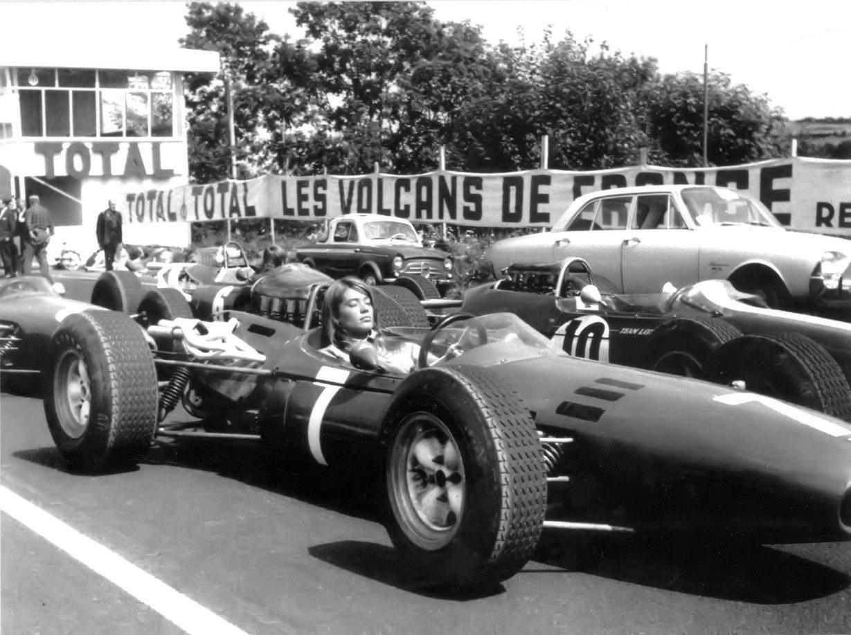 Det er fredag... Françoise-Hardy-F1-Car