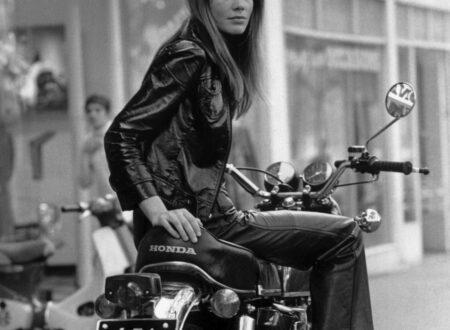 Françoise Hardy Motorcycle1 450x330 - Françoise Hardy on her Honda