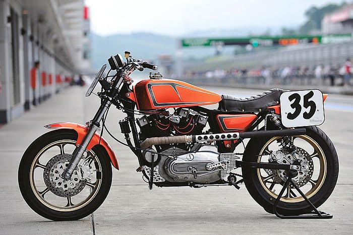 Harley XLH 1981 Racer by Vee Machine 02