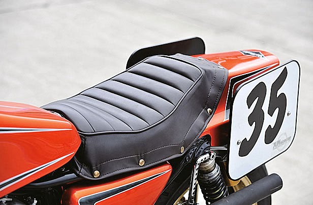 Harley XLH 1981 Racer by Vee Machine 09