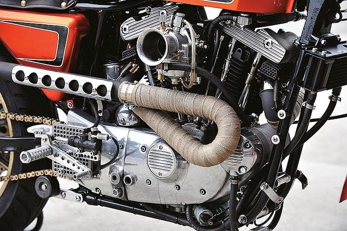 Harley XLH 1981 Racer by Vee Machine 11