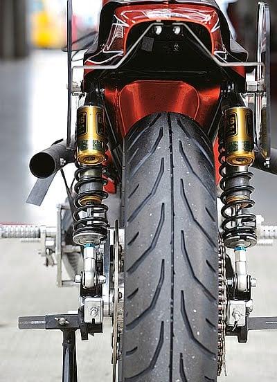 Harley XLH 1981 Racer by Vee Machine 12