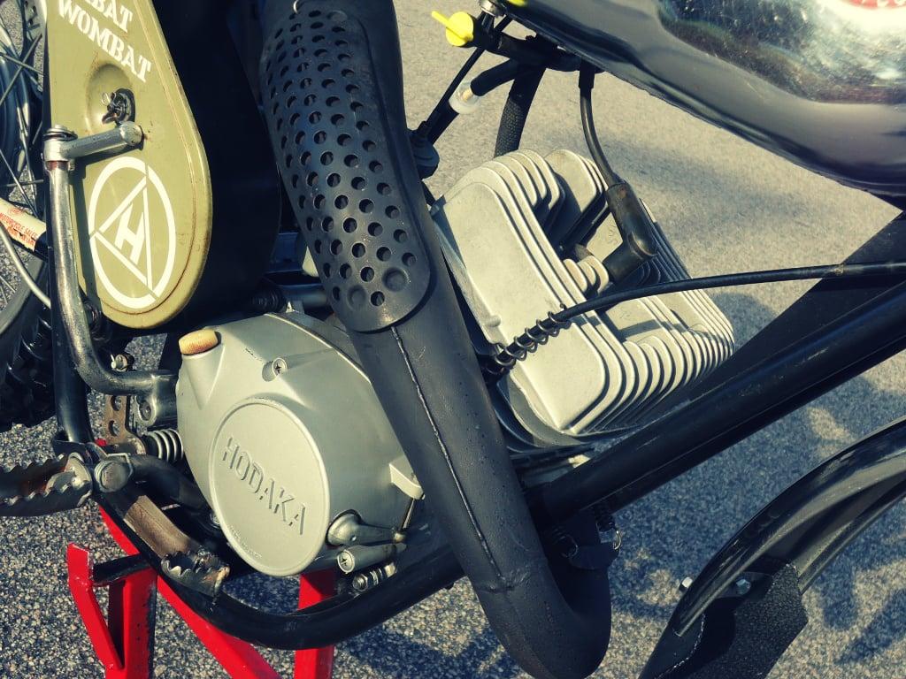 Hodaka Wombat engine
