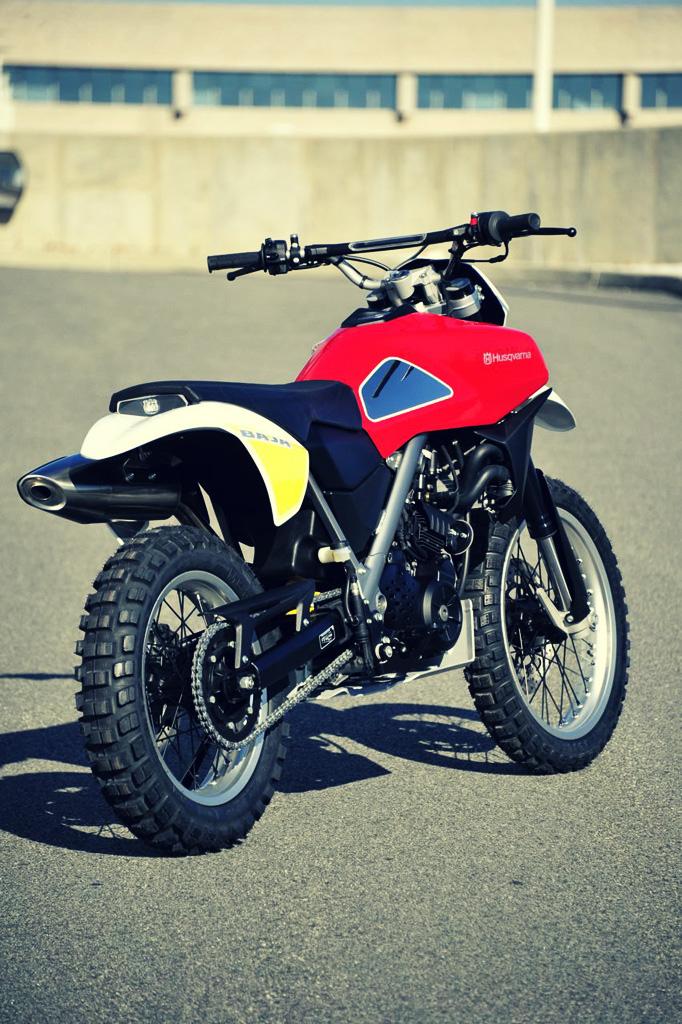 Husqvarna Baja Motorbike