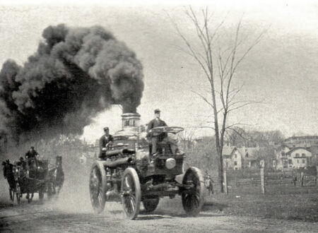 Jumbo 1889 9 Ton Amoskeagfor Hartford Fire Engine
