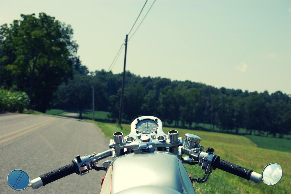 Kawasaki Café Racer Custom Motorcycle