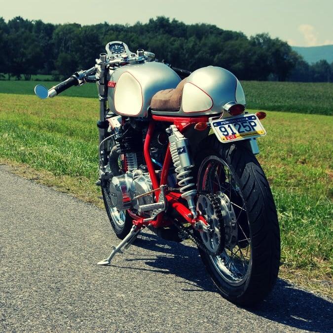 Kawasaki Cafe Racer Custom