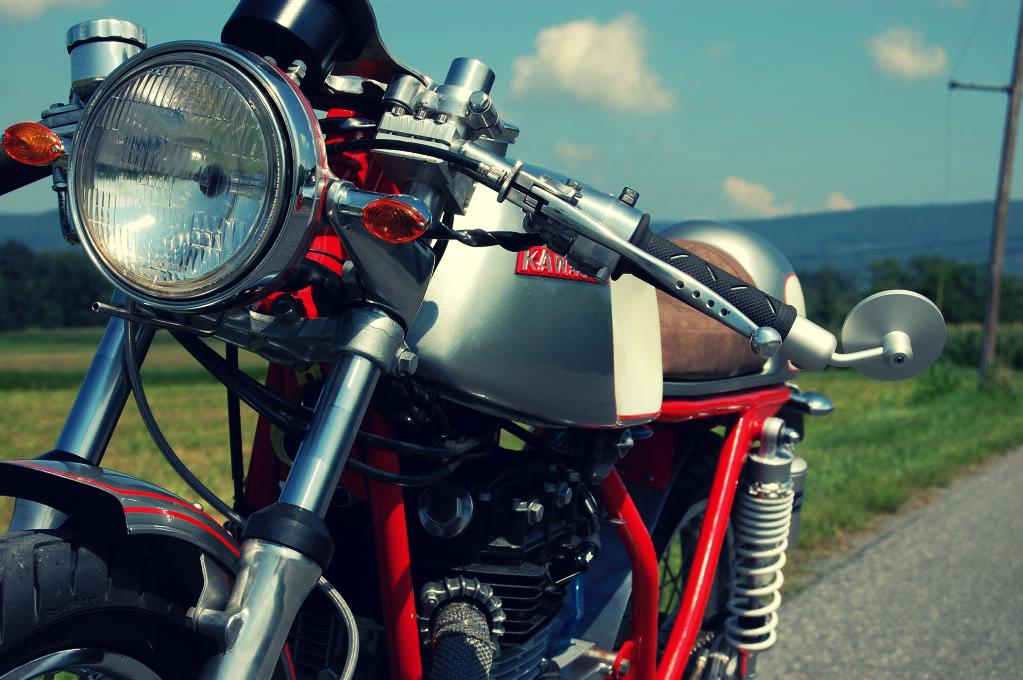 Kawasaki Café Racer Moto