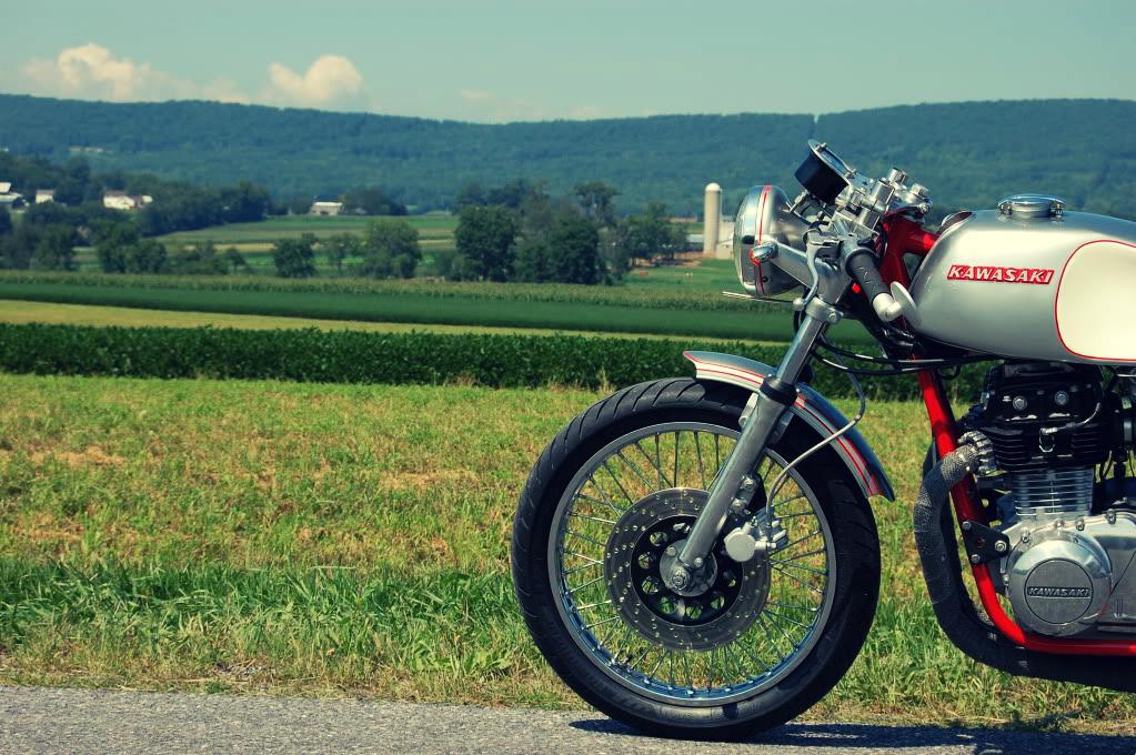 Kawasaki Café Racer Motorcycle