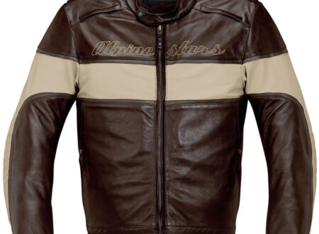 Leather Motorcycle Jacket Alpnestars 450x330 - Drift Leather Jacket by Alpinestars