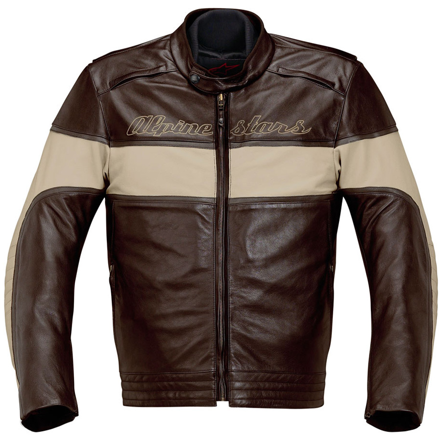 Alpine Motorcycle Gear >> Drift Leather Jacket by Alpinestars - (SILODROME)