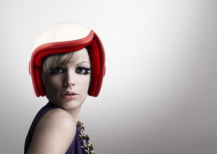 Luxy Vespa Helmet by Daniel Don Chang Luxy Vespa Helmet by Daniel Don Chang