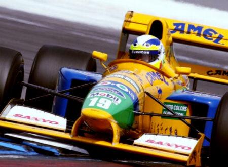 Michael Schumachers First F1 Car Benetton 450x330 - Michael Schumacher's First F1 Car