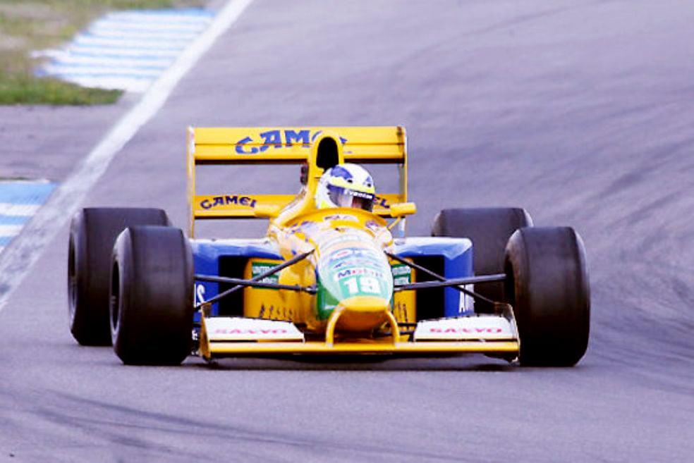 For Sale Michael Schumacher S First F1 Car
