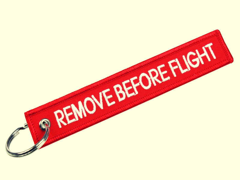 Remove Before Flight Keychain Meaning Remove Before Flight