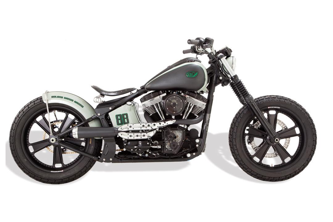 Roland Sands Design Blackline Softail Bike