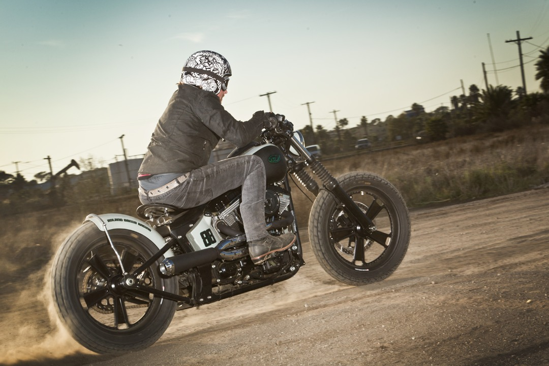 Roland Sands Design Blackline Softail Custom Motorcycle