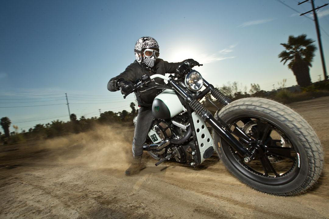 Roland Sands Design Blackline Softail Motorbike
