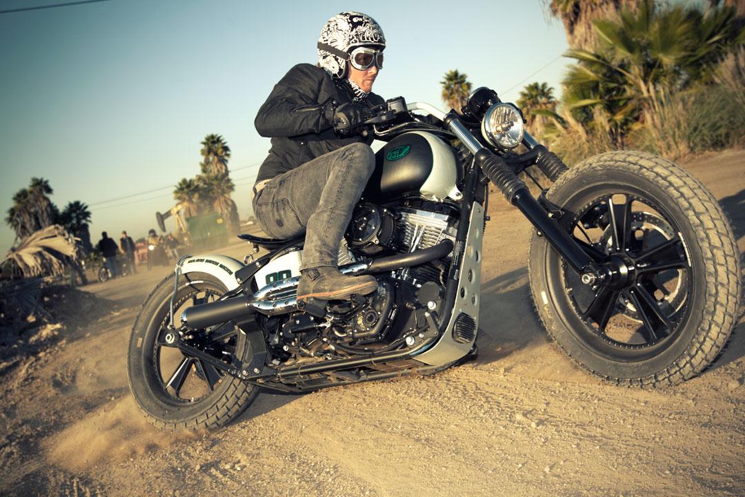 Roland Sands Design Blackline Softail  Motorcycle