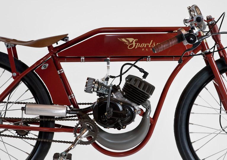Sportsman Flyer Racer Model Engine