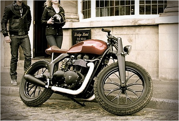 Triumph Speed Twin by Rod and Tod Design Motorbike Triumph Speed Twin by Rod and Tod Design