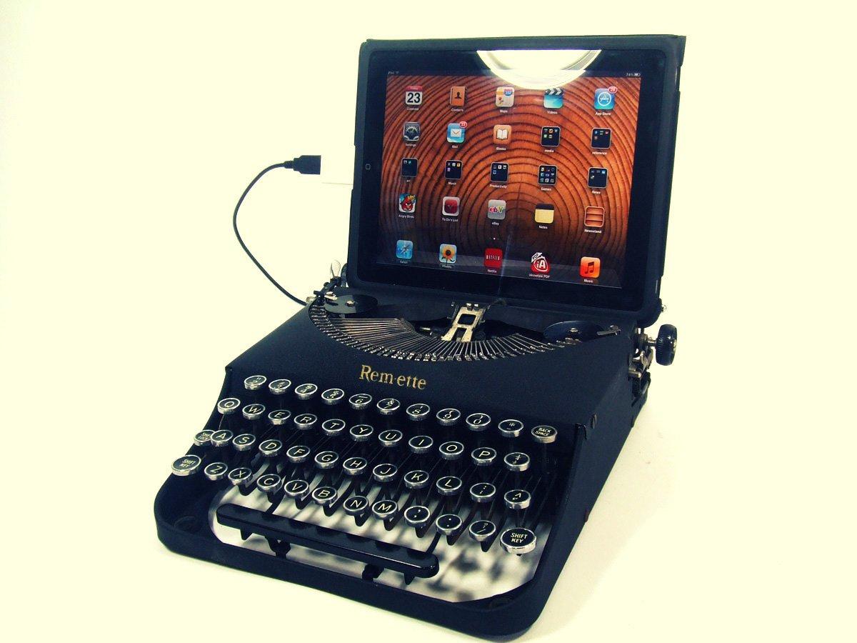 iPad Typewriter USB