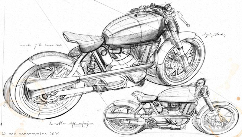 mac motorcycles design