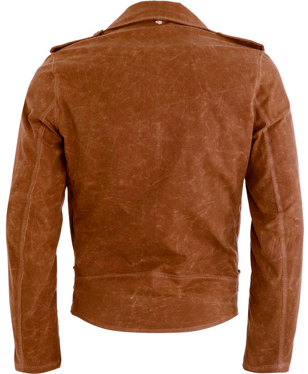 schott perfecto canvas motorcycle jacket