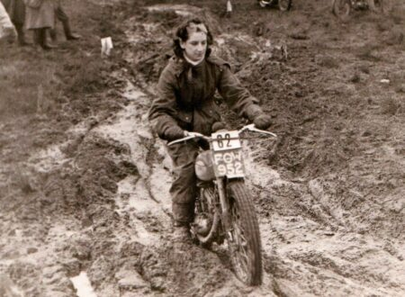 vintage motorcycle hillclimb 450x330 - Lady Mud Racer