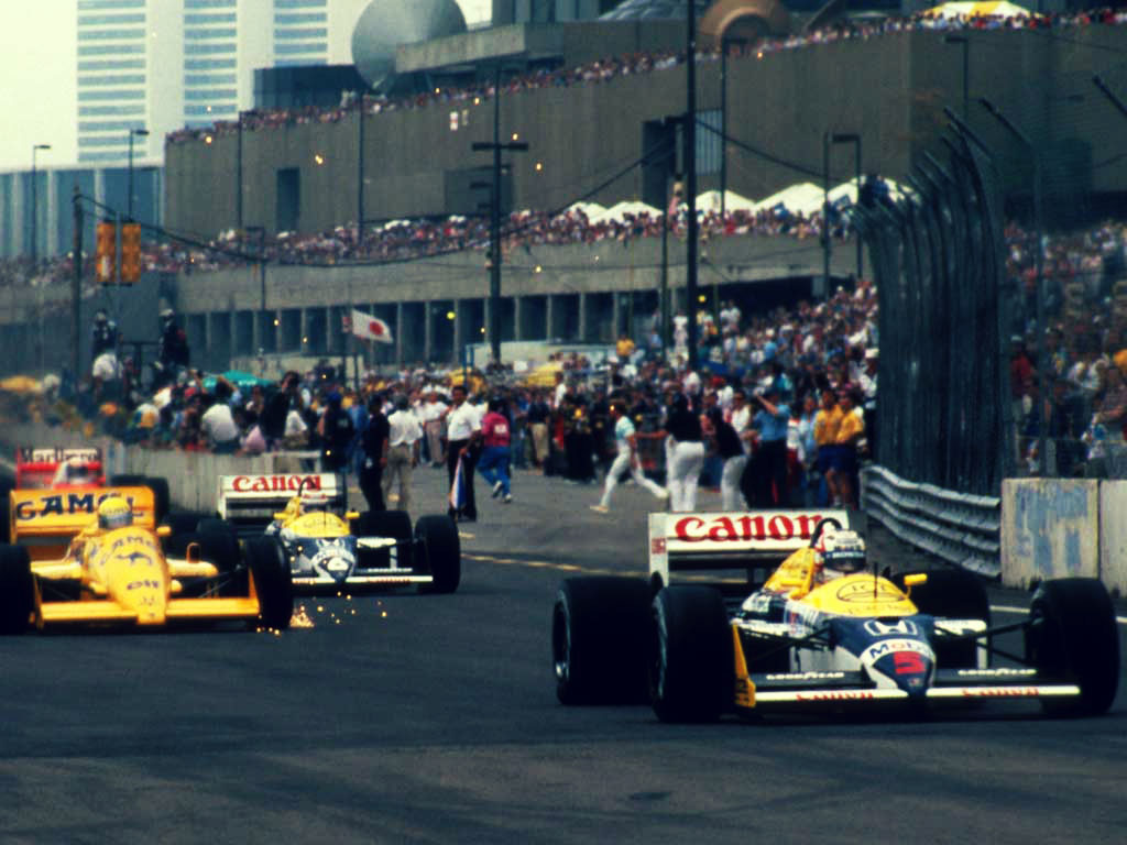 1987 Detroit F1 GP