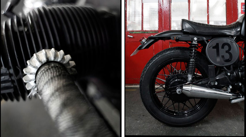BMW R1007 Custom - BMW R100/7 'Lucky 13' by Blitz Motorcycles