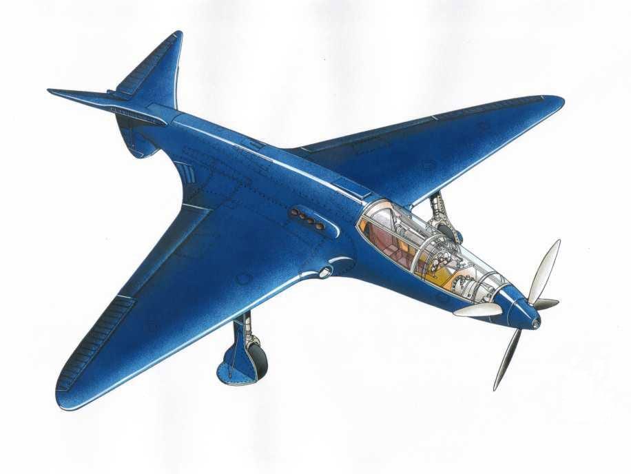 Bugatti 100P Airplane