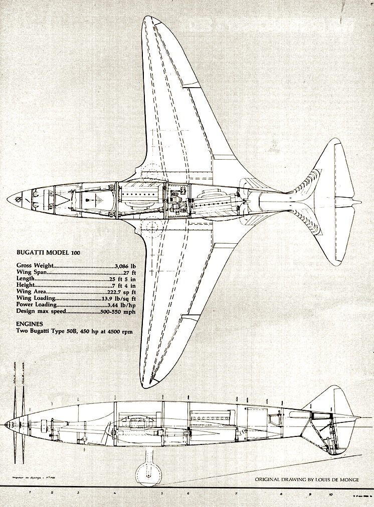 The bugatti 100p aircraft pictures specifications bugatti 100p plane malvernweather Images