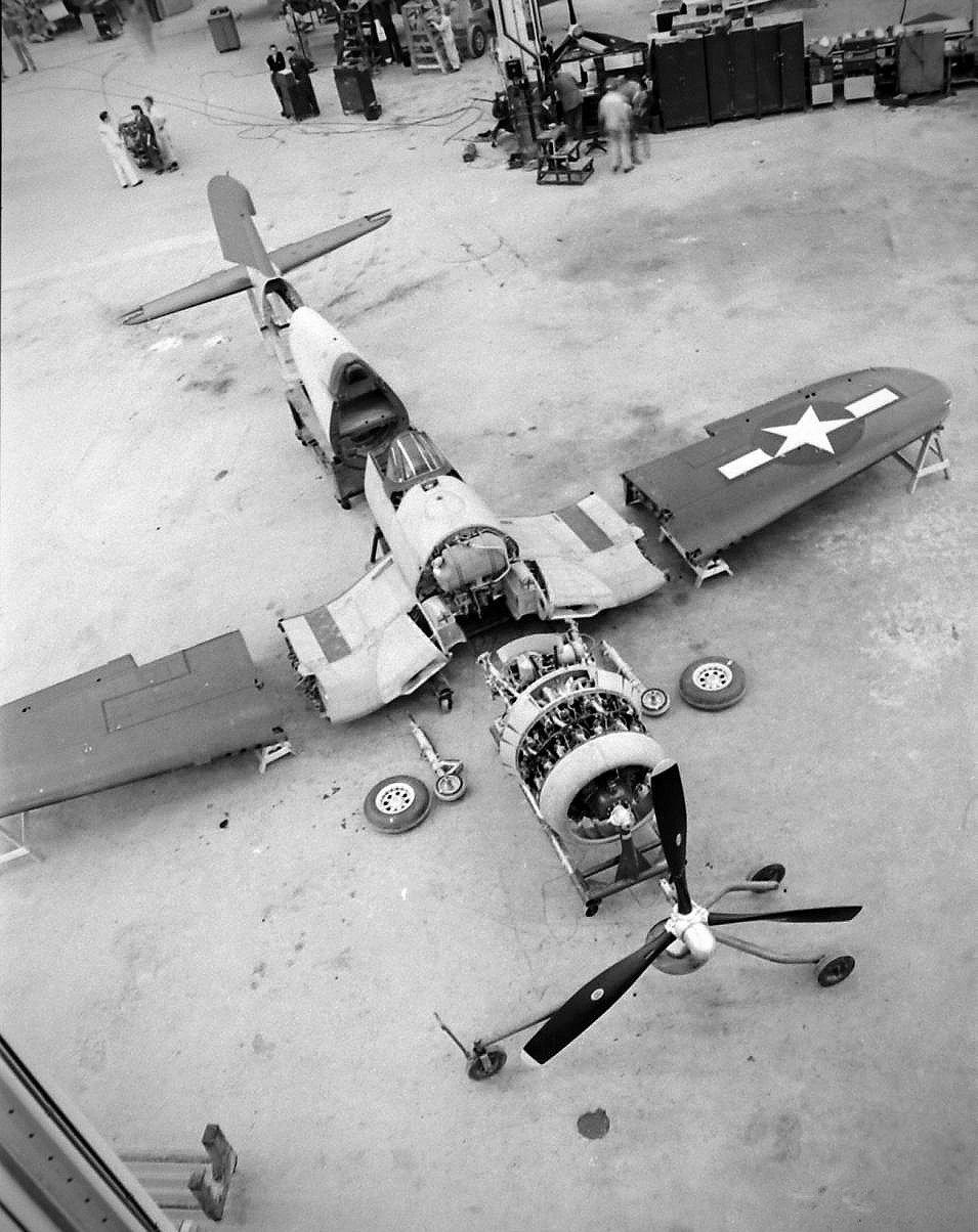 Corsair Fighter 1944 Vought F4U Corsair